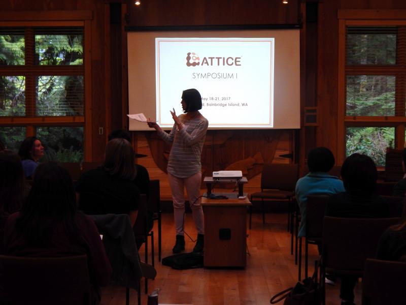 Photo: Dr. Claire Horner-Devine speaking