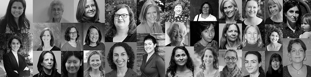 Collage of UW Women faculty portraits