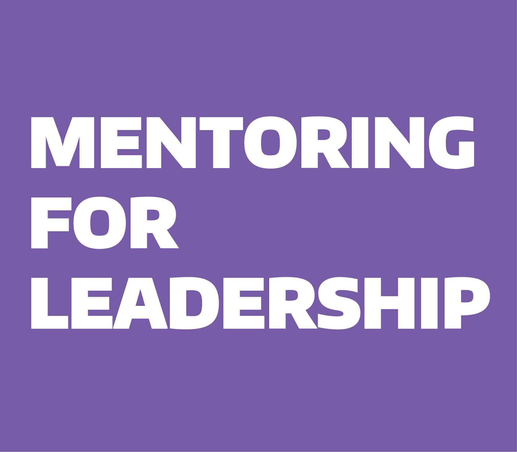 Mentoring for Leadership Lunch