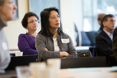Photo of ADVANCE program participants attending a Leadership Workshop.